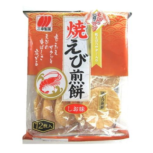 【賞味期限:19.09.05】三幸 焼えび煎餅 12枚
