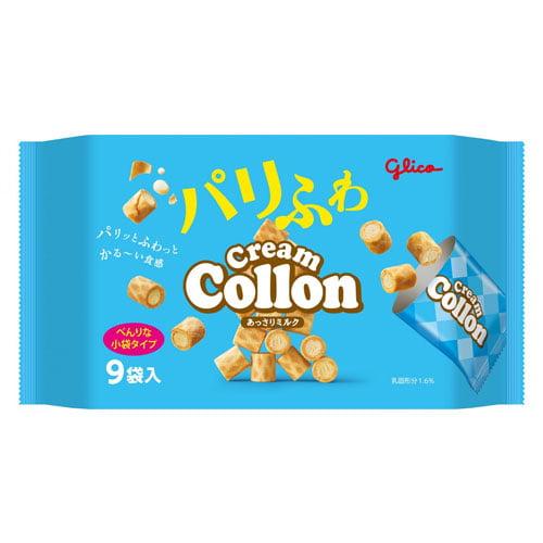 【賞味期限:21.05.31】グリコ クリームコロン大袋 あっさりミルク 11パック