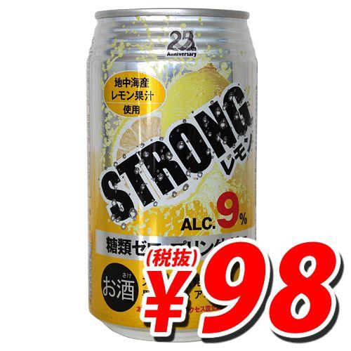 日本アクセス ストロングチューハイ レモン 350ml