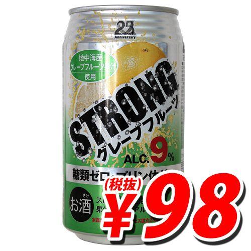 日本アクセス ストロングチューハイ グレープフルーツ 350ml