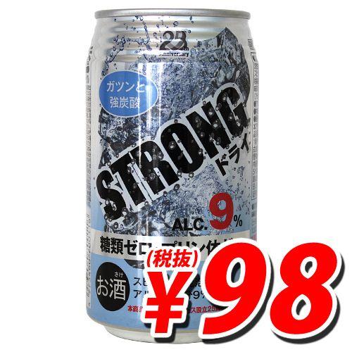 日本アクセス ストロングチューハイ ドライ 350ml