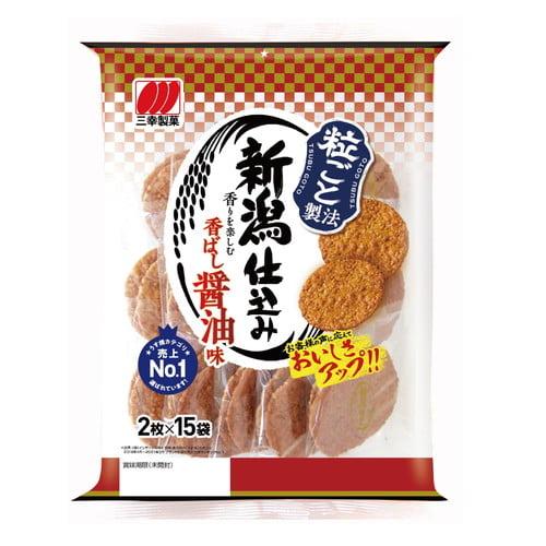 【賞味期限:21.12.15】三幸製菓 新潟仕込み 30枚