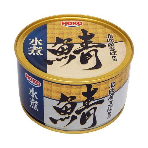 【賞味期限:22.02.12】宝幸 鯖水煮 北欧産さば使用 370g