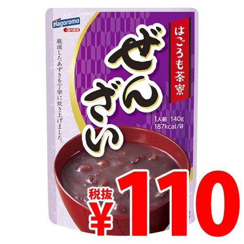 【賞味期限:21.11.14】はごろもフーズ 茶寮 ぜんざい 140g