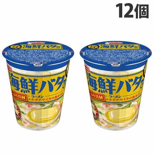 【賞味期限:21.12.14】エースコック じわとろ 海鮮バター味ラーメン 88g×12個