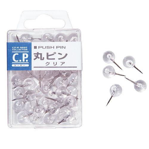C.P. 丸ピン クリア 885721