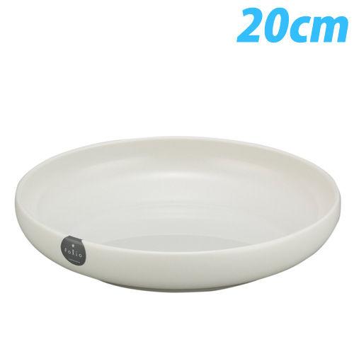 フォリオ ディッシュ 20cm ホワイト 1183