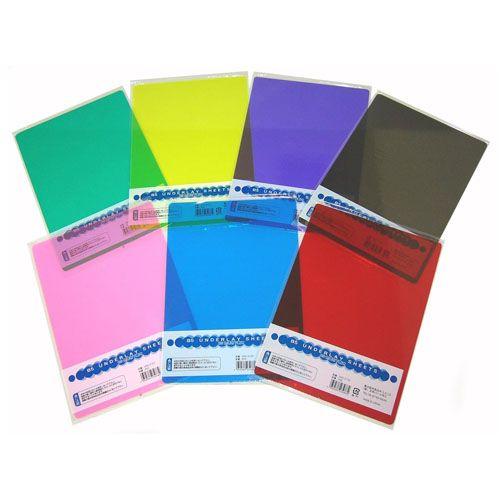 カラー透明下じき B5 090-3120