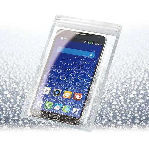 防水クリアケース スマートフォン ワイドタイプ CN1582