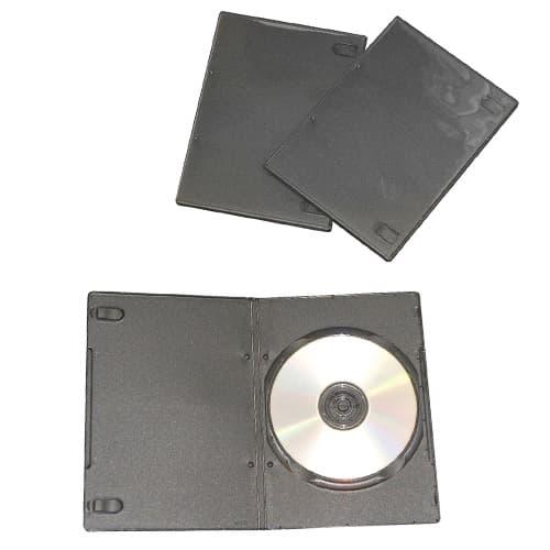 トールケース DVD スリムタイプ 3個 XC-500BK