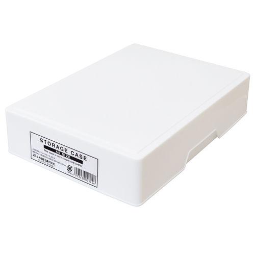 収納ケース ストレージケース A5 ホワイト J9838