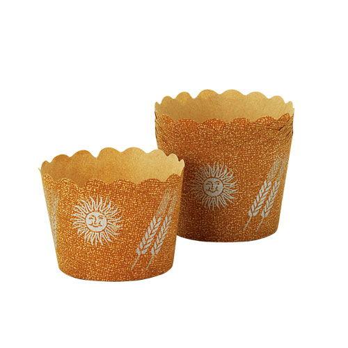 カップケーキ型 太陽と麦 10個 HC-11