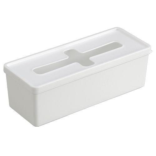 引出し収納ケース プルアウトボックス ロングサイズ ホワイト 1282