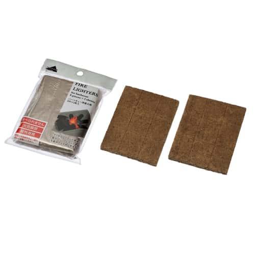 エコー金属 着火剤 バーベキュー用 9片×2枚入 2206-155