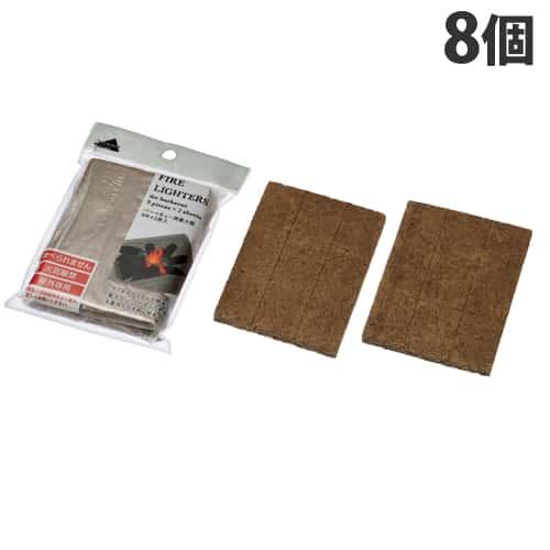 エコー金属 着火剤 バーベキュー用 9片(2枚入)×8個セット 2206-155