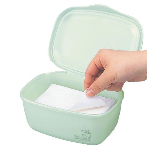 除菌シートケース ミントグリーン 2710