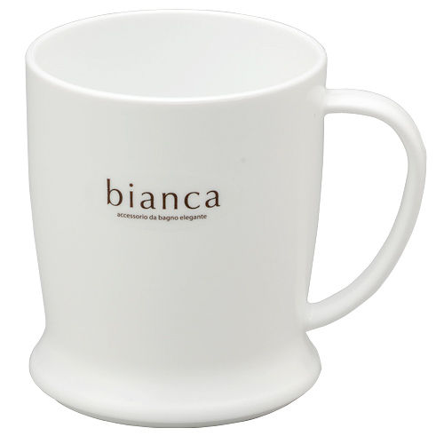 ビアンカ 手付きコップ ホワイト 2140