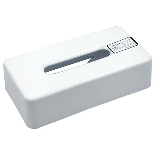 石田工業 ティッシュBOX ホワイト K-010