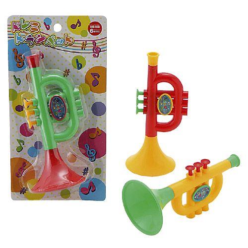 おもちゃ ドレミトランペット 7699