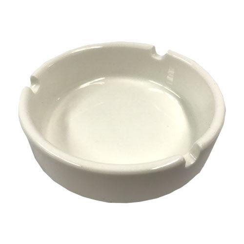 陶器灰皿 M 白 MB-8530