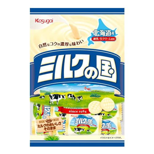 春日井 キャンディ ミルクの国 エコノミー 73g