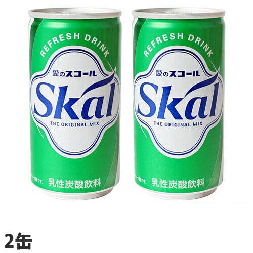 南酪 乳性炭酸飲料スコール 2缶