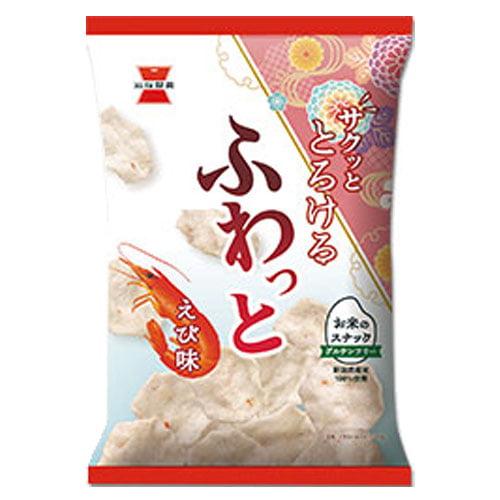 岩塚製菓 ふわっと やわらかえび味 45g