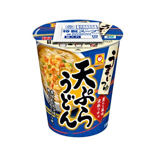 東洋水産 マルちゃん うまいつゆ 天ぷらうどん 68g