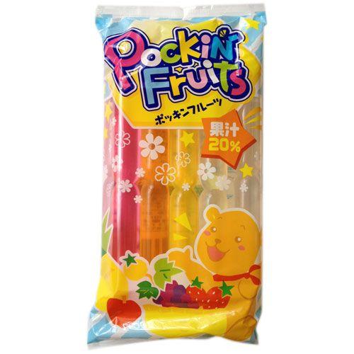 マルゴ食品 チューペット ポッキンフルーツ果汁20% 10本入