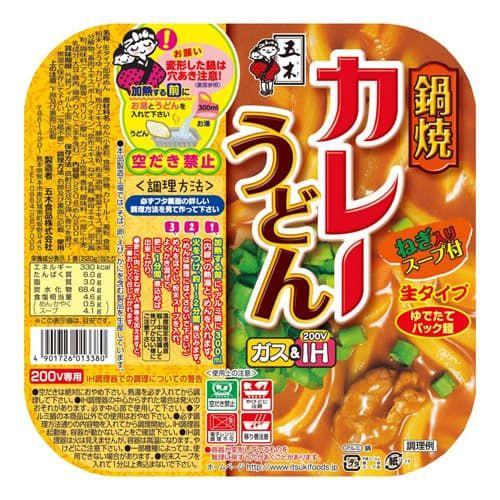 五木食品 鍋焼カレーうどん 220g
