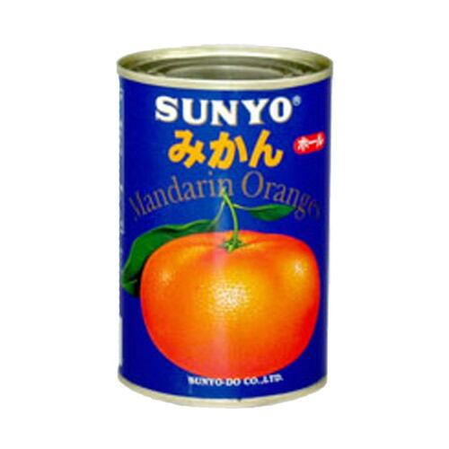 サンヨー堂 アイサンヨーみかん輸入 4号缶