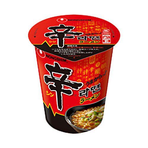 農心ジャパン カップ麺 辛ラーメン カップ 68g