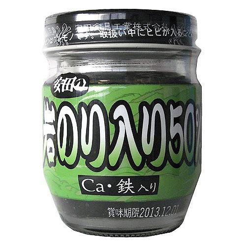 安田食品 岩のり入り50% CA・鉄入り 70g