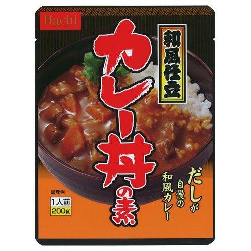 ハチ食品 レトルトカレー カレー丼の素 200g