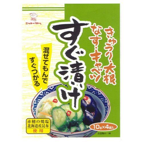 日東食品工業 浅漬けの素 すぐ漬け 10g 4袋