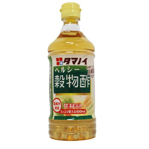 タマノイ ヘルシー穀物酢 PET 500ml