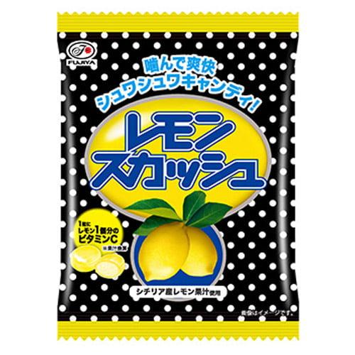 不二家 飴 レモンスカッシュキャンディ袋 80g