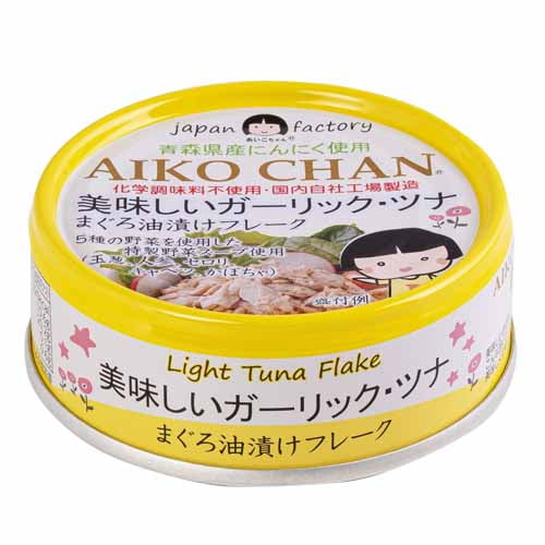 伊藤食品 美味しいガーリック・ツナ 70g