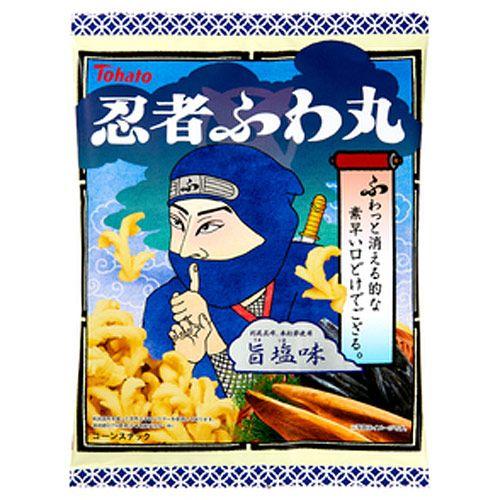 東ハト 忍者ふわ丸 旨塩味 65g
