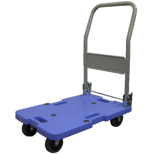 ナンシン 軽量樹脂台車 120kg ブルー