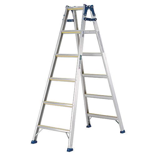 アルインコ はしご兼用脚立 最大使用質量100kg 82cm MXJ90F