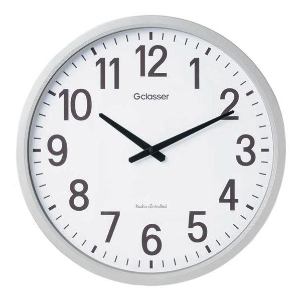 キングジム 電波掛時計 Gクラッセ ザラージ GDK-001