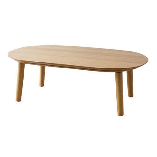 東谷 こたつテーブル W120×D72×H39cm ナチュラル ベル120NA