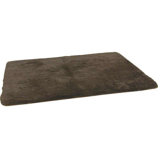 東谷 ラグマット 正方形 W185×D185cm ブラウン BLF-185BR