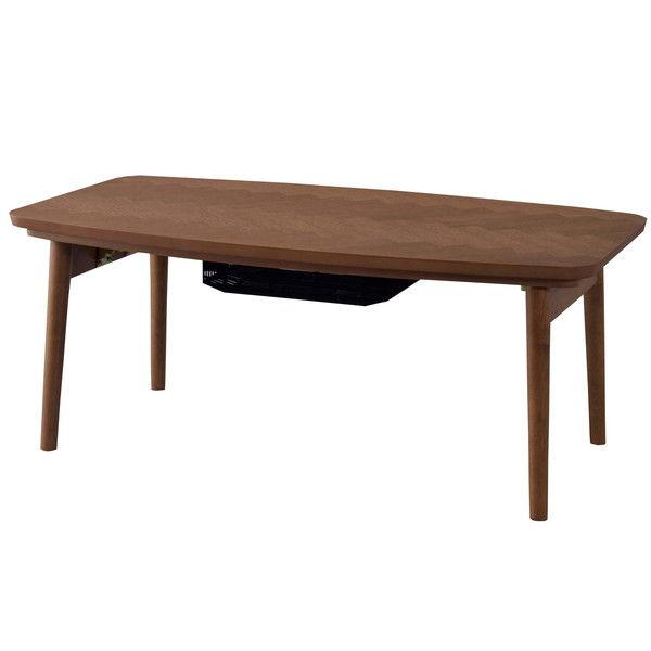 東谷 こたつテーブル W90×D50×H36cm KT-111