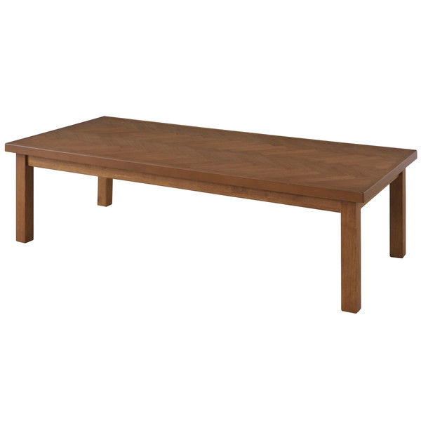 東谷 こたつテーブル W130×D60×H36/40cm ブラウン KT-113BR