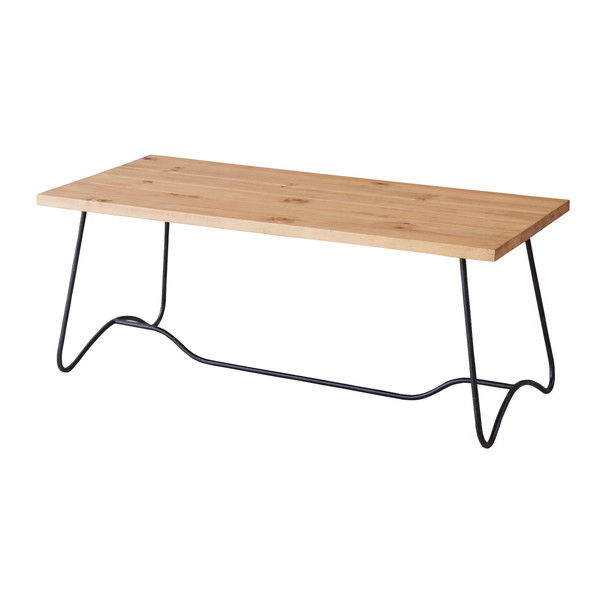 東谷 センターテーブル W1000×D450×H400mm ミディアムブラウン NW-111MBR
