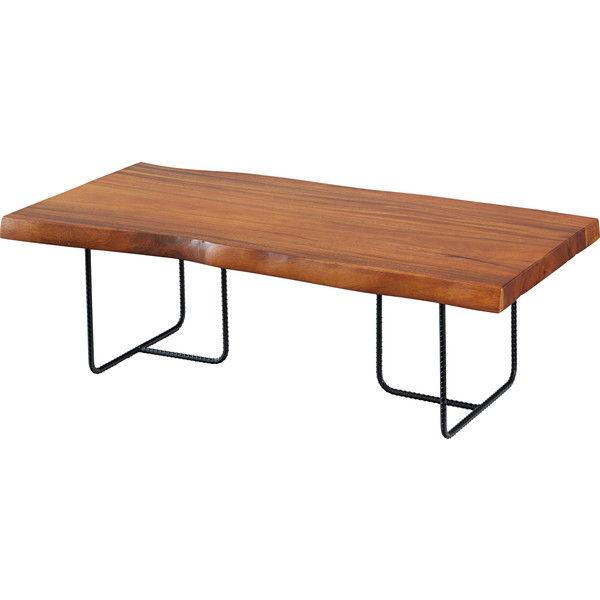 東谷 ジェラルド センターテーブル 約W1200×D600×H385mm JW-113