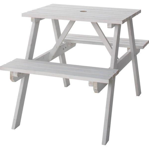 東谷 テーブル&ベンチ ホワイト ODS-91WH