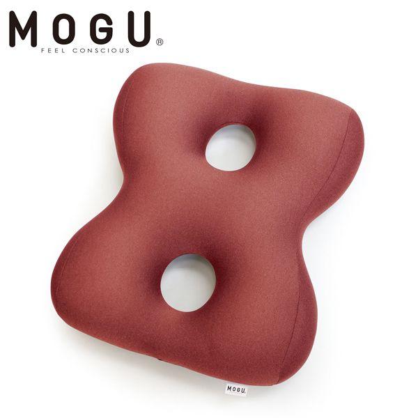 MOGU クッション 姿勢体幹サポーターエイト レッド